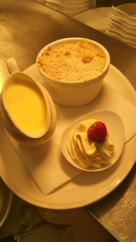 Ripples Restaurant Apple Crumble